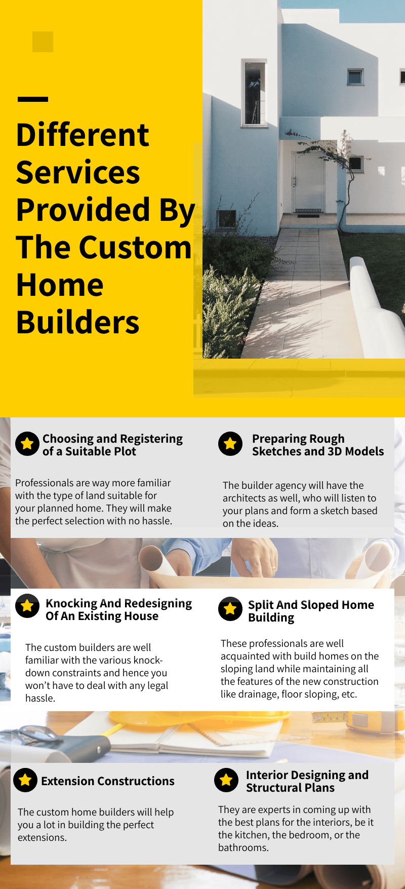 tips to choose the best custom home builders for your dream home