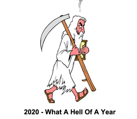 2020 – what a hell of a year