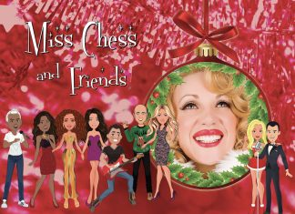 miss chess releases of her independent christmas single: happy jolly very extra merry christmas