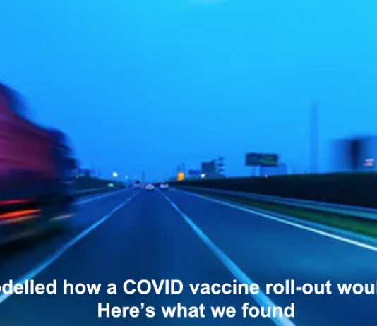 we modelled how a covid vaccine roll-out would work. here's what we found