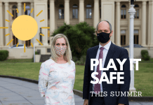 'play it safe' in port phillip over summer