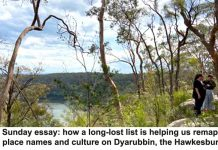 sunday essay: how a long-lost list is helping us remap darug place names and culture on dyarubbin, the hawkesbury river