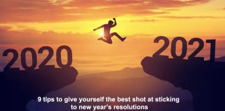 9 tips to give yourself the best shot at sticking to new year's resolutions