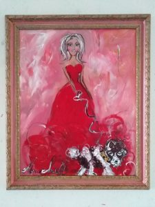 maria smirlis -artist impressionist paintings collected world wide