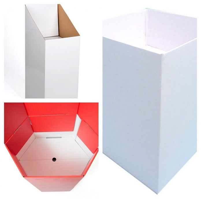 what are the top benefits of using the cardboard dump bins?