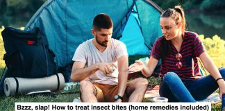 bzzz, slap! how to treat insect bites (home remedies included)