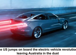 the us jumps on board the electric vehicle revolution, leaving australia in the dust