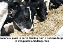 nationals' push to carve farming from a net-zero target is misguided and dangerous