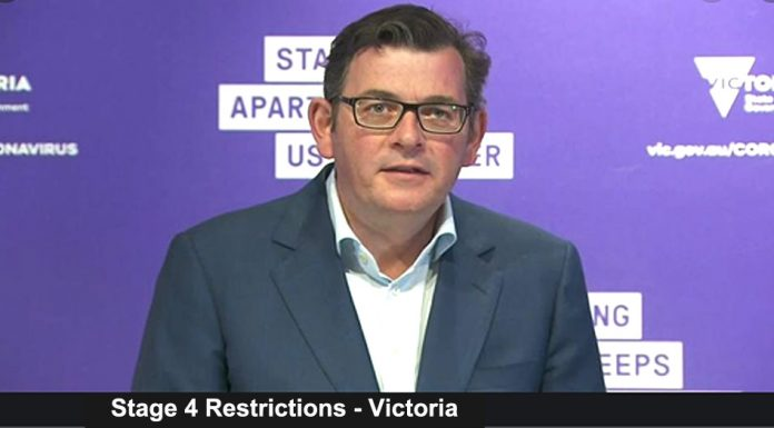 stage 4 restrictions – victoria