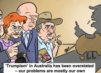 'trumpism' in australia has been overstated – our problems are mostly our own