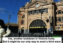 yes, another lockdown in victoria hurts. but it might be our only way to avert a third wave