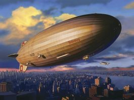 the hindenburg (zeppelin airship)
