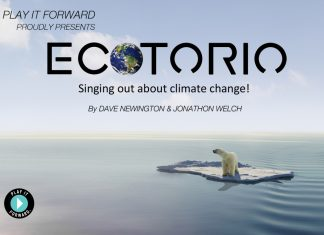 be part of the first movement of ecotorio … singing out about climate change!