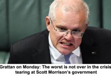 grattan on monday: the worst is not over in the crisis tearing at scott morrison's government