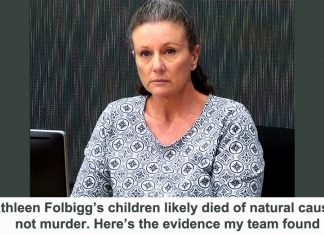 kathleen folbigg's children likely died of natural causes, not murder. here's the evidence my team found