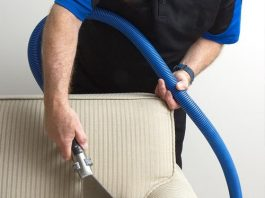 how can you clean microfiber upholstery?