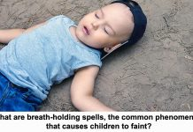 what are breath-holding spells, the common phenomenon that causes children to faint?
