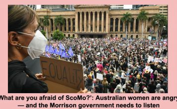 'what are you afraid of scomo?': australian women are angry — and the morrison government needs to listen
