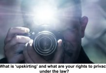 what is 'upskirting' and what are your rights to privacy under the law?