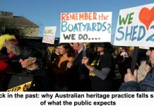 stuck in the past: why australian heritage practice falls short of what the public expects