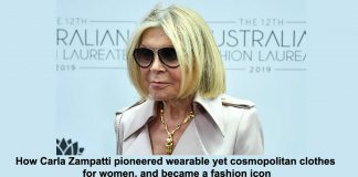 how carla zampatti pioneered wearable yet cosmopolitan clothes for women, and became a fashion icon