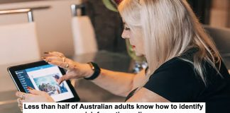 less than half of australian adults know how to identify misinformation online