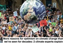 more reasons for optimism on climate change than we've seen for decades: 2 climate experts explain