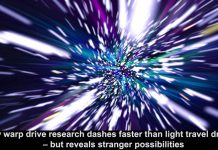 new warp drive research dashes faster than light travel dreams – but reveals stranger possibilities