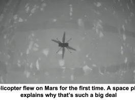 so a helicopter flew on mars for the first time. a space physicist explains why that's such a big deal