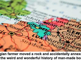a belgian farmer moved a rock and accidentally annexed france: the weird and wonderful history of man-made borders