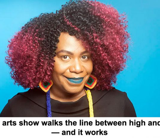 abc's new arts show walks the line between high and low brow — and it works