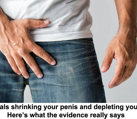 are chemicals shrinking your penis and depleting your sperm? here's what the evidence really says