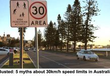 busted: 5 myths about 30km/h speed limits in australia