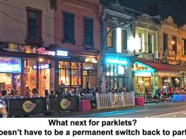 what next for parklets? it doesn't have to be a permanent switch back to parking