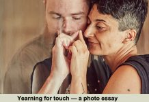 yearning for touch — a photo essay