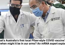 what's australia's first local pfizer-style covid vaccine? and when might it be in our arms? an mrna expert explains