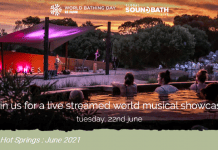 celebrate world bathing day at peninsula hot springs first ever global live streamed music event