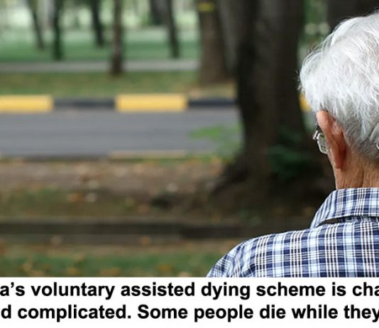 victoria's voluntary assisted dying scheme is challenging and complicated. some people die while they wait