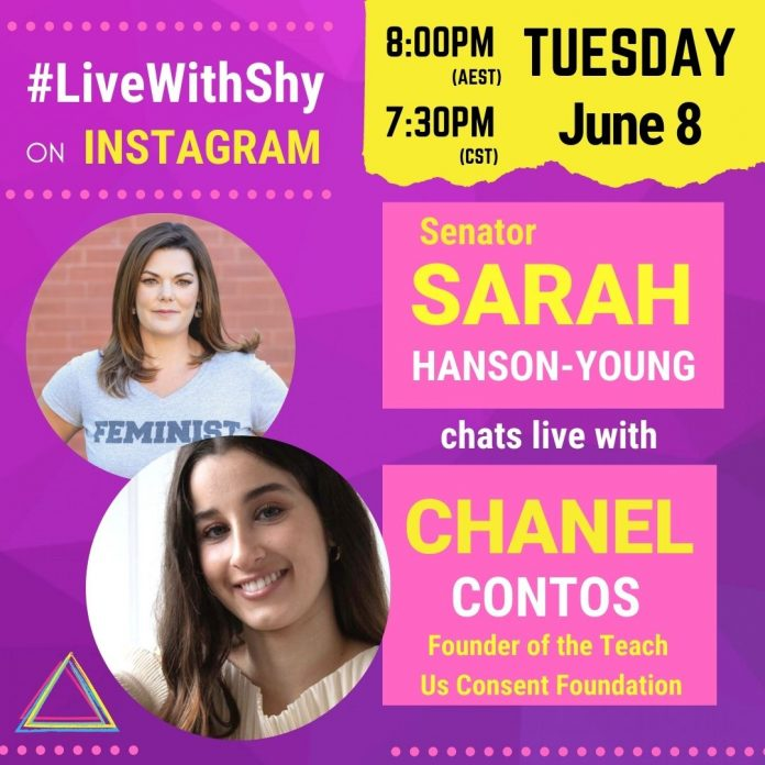 live with shy: special guest chanel contos