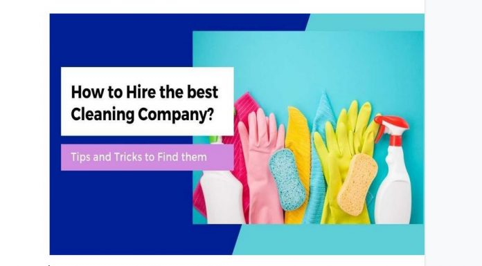 how to hire the best cleaning company in sydney?