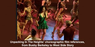 unpacking in the heights' choreographic film references, from busby berkeley to west side story