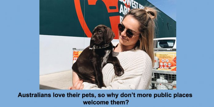 australians love their pets, so why don't more public places welcome them?