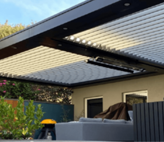 how aluminium louvre roof adds value to your property