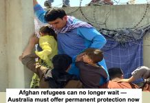 Afghan refugees need our protection now header