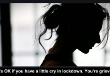 Its OK to cry in lockdown header