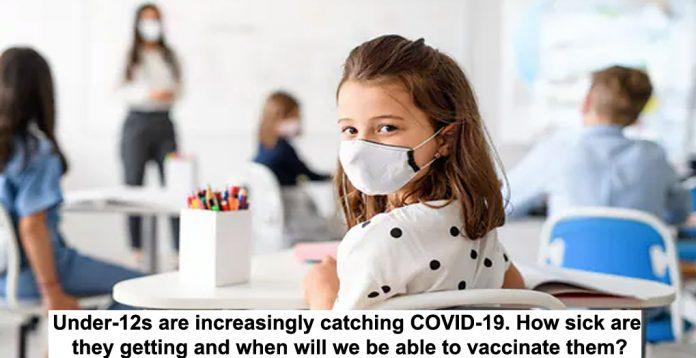 Under s are increasingly catching COVID header