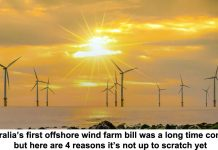 australia's first offshore wind farm bill was a long time coming, but here are 4 reasons it's not up to scratch yet