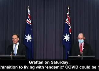 grattan on saturday: the transition to living with 'endemic' covid could be rough