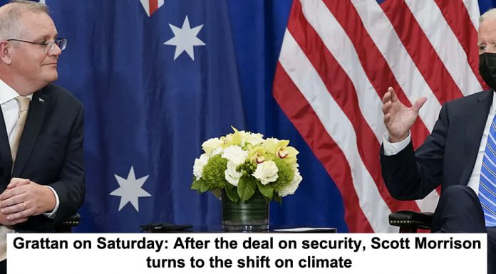 grattan on saturday: after the deal on security, scott morrison turns to the shift on climate