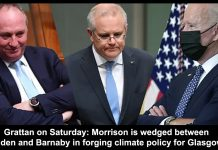 grattan on saturday: morrison is wedged between biden and barnaby in forging climate policy for glasgow